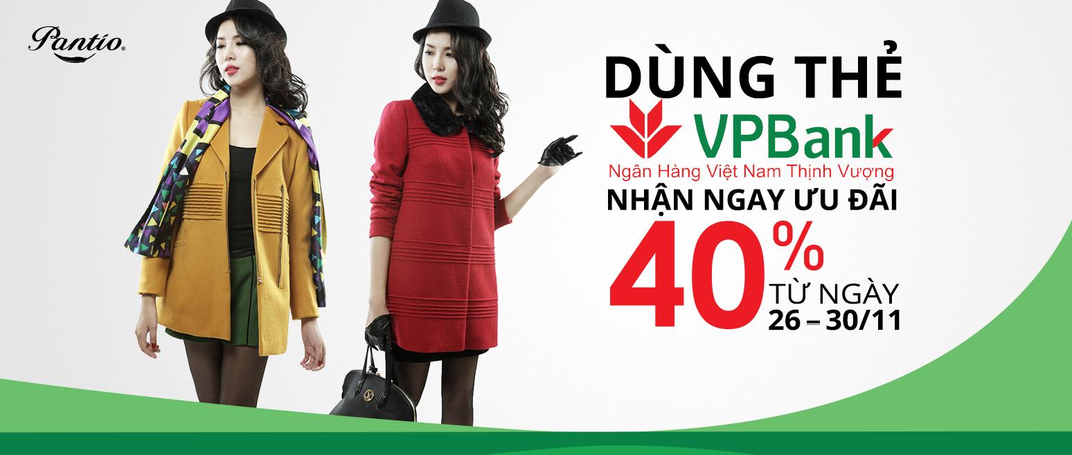 Dùng thẻ VPBank nhận ngay ưu đãi