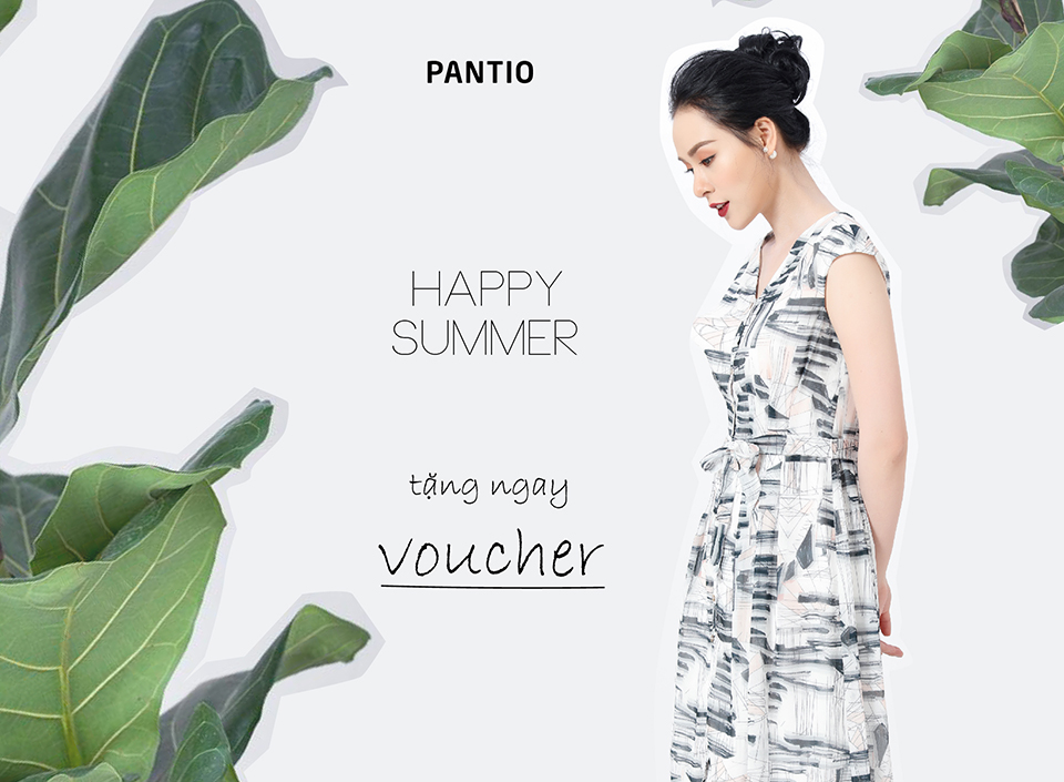 HAPPY SUMMER - TẶNG NGAY VOUCHER