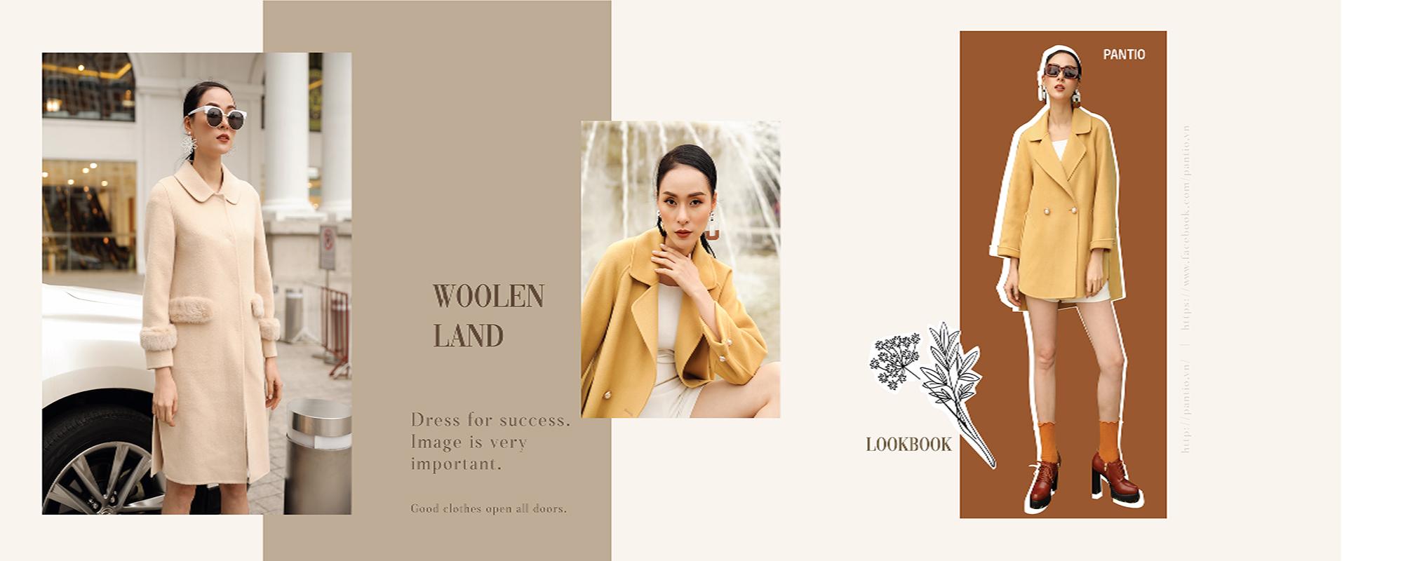 Woolen Land | Đẳng cấp của khoác dạ ép lông cừu
